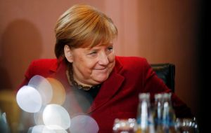 Europe lands on Davos with German Chancellor Angela Merkel making her traditional visit to the forum to promote the continent's leading economy