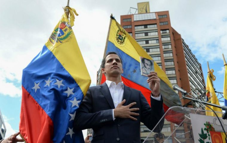 Most Latin American nations recognized Venezuelan opposition leader Juan Guaido as interim president on Wednesday