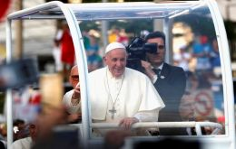 Immigration is expected to be one of the main themes of Francis's trip. The pope met eight refugees in Rome before heading to the airport for his flight to Panama