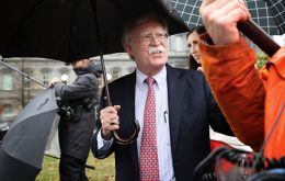 Bolton's warning comes days after the US and more than 20 other countries recognized Mr Guaidó as interim president