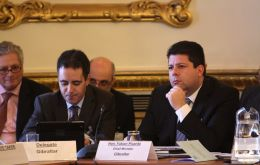 Chief Minister Fabian Picardo and Deputy Chief Minister Dr Joseph Garcia took advantage of their visit to London to meet opinion-formers on the Remain and the Leave sides of the argument