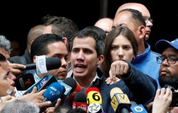 "Guaidó said his government was aiming to ""guarantee the biggest transparency and control"" for PDVSA"