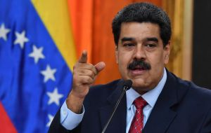 President Nicolas Maduro remained resolute that he is the rightful leader and resisted international pressure to step down.