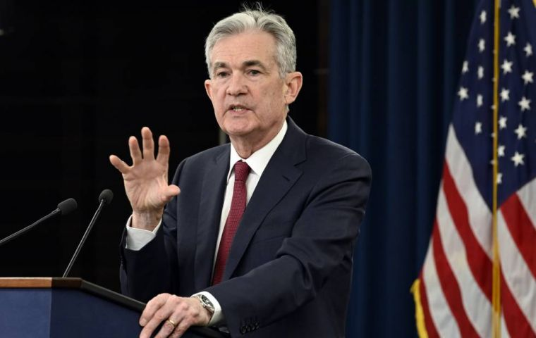 "Fed Chairman Jerome Powell said the case for rate increases had ""weakened"" in recent weeks, with neither rising inflation or financial stability considered a risk"