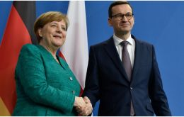 Polish leader, Mateusz Morawiecki, disclosed that he had called German Chancellor Angela Merkel to urge her to find a way to break the deadlock