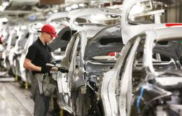 Inward investment fell 46.5% to £588.6m last year from £1.1bn in 2017, the Society of Motor Manufacturers and Traders (SMMT) says.