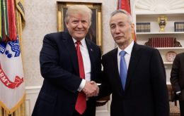 "Trump, during a meeting with Chinese Vice Premier Liu He, said he was optimistic that the world's two largest economies could reach ""the biggest deal ever made"""