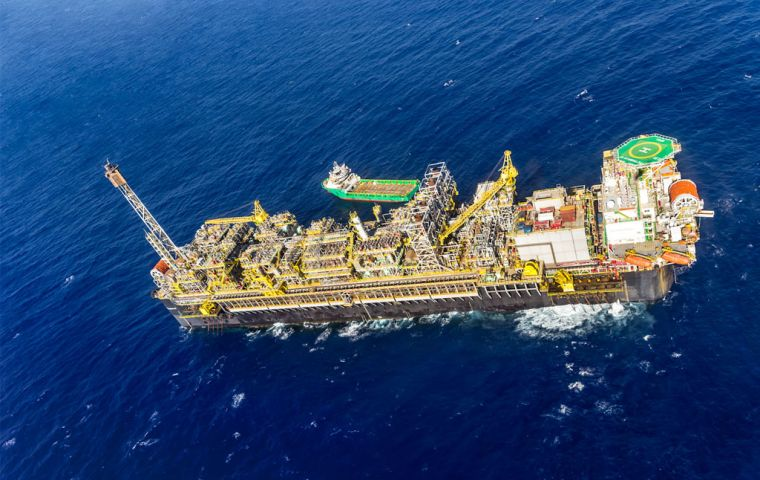 FPSO P-67 floating production, storage and offloading vessel, is the ninth FPSO installed at Lula and officially ends the first phase of development at the field