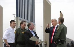It comes as President Donald Trump battles Congress for funds to build a wall along the border. He says such a measure is needed to stop illegal immigration.