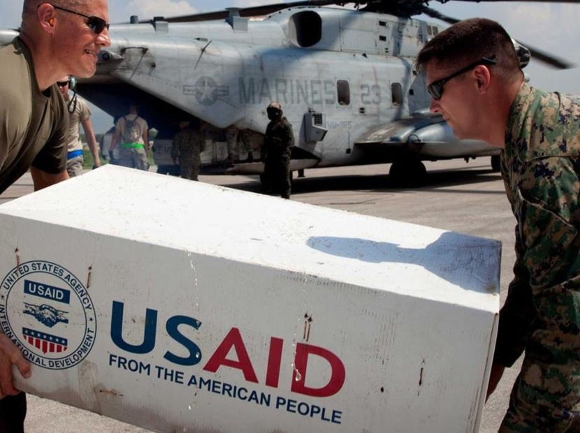 US humanitarian aid stationed at the Colombia/Venezuela border — MercoPress