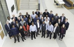 Delegates from the Overseas Territories visiting the UK Hydrographic Office