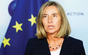 Federica Mogherini, in charge of EU's foreign affairs