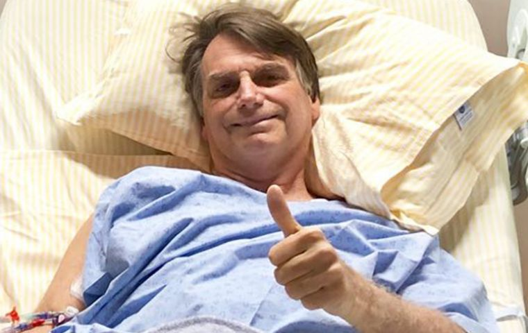 The Brazilian president medical team said his bodily functions are returning to normal, but there is no date set for him to go home