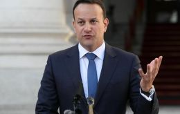 "Varadkar hosted May for a formal dinner in Dublin that an Irish official described as ""very warm"" - in contrast to a relatively chilly reception given in Brussels"