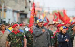 Maduro's faith in his own military may continue to wane, but at least for now he has the support of his armed forces, which has really kept him in power.