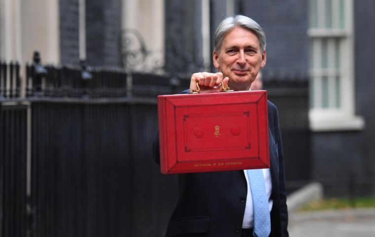 In its analysis, IFS said spending increases already promised by Hammond would be swallowed up by commitments to fund the NHS, defense and international aid