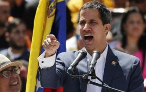 "Guaido said he was issuing a ""direct order"" to the armed forces to allow the aid in, though so far there are not clear signs the military would disobey Maduro"