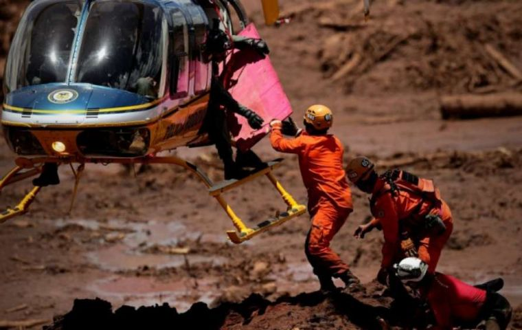 A letter signed by more than 15 NGOs said that Vale failed to take proper safety measures at a tailings dam at its Corrego do Feijao iron ore mine in Minas Gerais