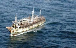 The sixty-four crew members who were rescued are due to arrive in Montevideo on the Jung Ron's sister vessel Lian Rong on 15 February. (Referencial image)