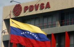"PDVSA branded the story ""fake news"" on its Twitter account – in red capital letters, adding the caption"