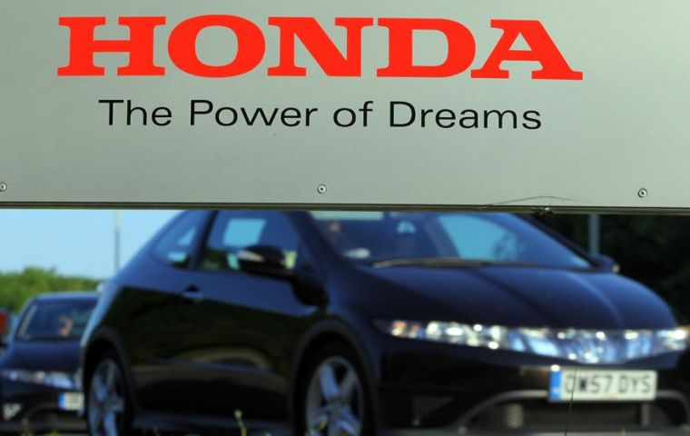 Honda to announce the closure of its Swindon plant on Tuesday, according to Sky News, but still keep its European headquarters in nearby Bracknell.