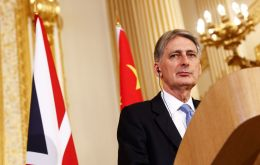 There were plans for trade talks between Mr Hammond and senior Chinese government figures during the brief visit this week
