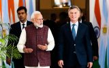 Indian PM Narendra Modi and Argentine President Mauricio Macri, held bilateral talks on Monday in New Delhi and strongly condemned terrorism.