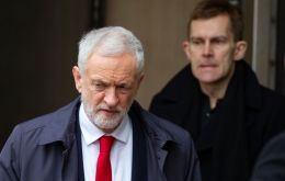 "Labour leader Jeremy Corbyn said he was ""disappointed"" the MPs had left the party."