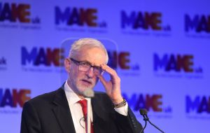 Jeremy Corbyn also announced he would be going to Brussels to meet EU chief negotiator Michel Barnier on Thursday