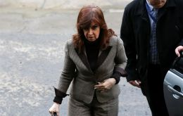 Cristina Fernandez is accused of having favored businessman Lazaro Baez in the attribution of 52 public works contracts worth 46 billion pesos (US$ 3.3bn)