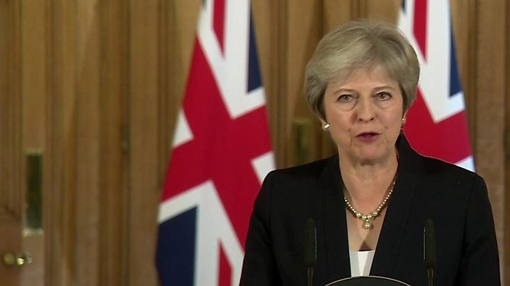 Prime Minister May has rejected claims the party has abandoned the centre ground in its pursuit of a hard Brexit