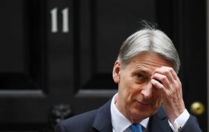 "Chancellor Philip Hammond said he was ""saddened"" by his former colleagues' comments, but denied the ""relatively small hardcore (ERG)""  had taken over"