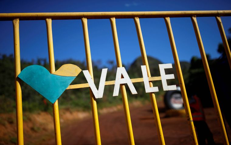 Mining giant Vale said the ANM's decision was made in light of a possible failure of five dams at both complexes, which are located in Minas Gerais