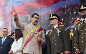 Padrino López is one of the strong men of the regime. He is Minister of Defense and general in chief of the Bolivarian National Armed Forces