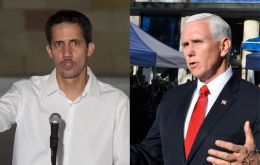 Pence's speech to be delivered to a summit of the Lima Group in Bogotá will follow a meeting with Venezuelan opposition leader Juan Guaido.