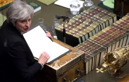 Government options include making a formal request to Brussels to delay Brexit if May cannot secure a deal by March 12, the newspaper reported