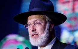 Rabbi Gabriel Davidovich was seriously injured by assailants who broke into his home while he and his wife were there, taking money and personal effects