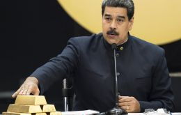"Legislator Angel Alvarado claimed in an interview the Maduro regime plans ""to sell the gold abroad illegally"""