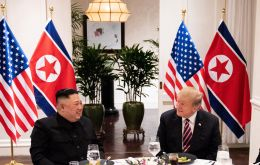 "Sitting beside Kim on Thursday morning, Trump said the pair had enjoyed very good discussions and ""importantly, I think the relationship is, just very strong."""