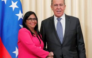 Lavrov has reiterated Russia's support for Maduro's efforts aimed at stabilizing the situation, as well as confirming his solidarity with his Government