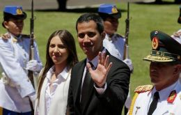 """We will keep fighting,"" Guaido said in Paraguay."