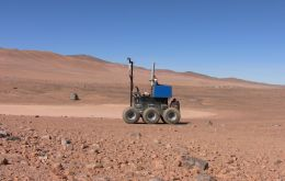 When on the surface of Mars, the rover will need to be controlled when it is up to 250 million miles from Earth.