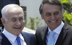 At the end of March, Bolsonaro will travel to Israel, Araujo added. The Brazilian leader would be in that country from March 31 to April 4