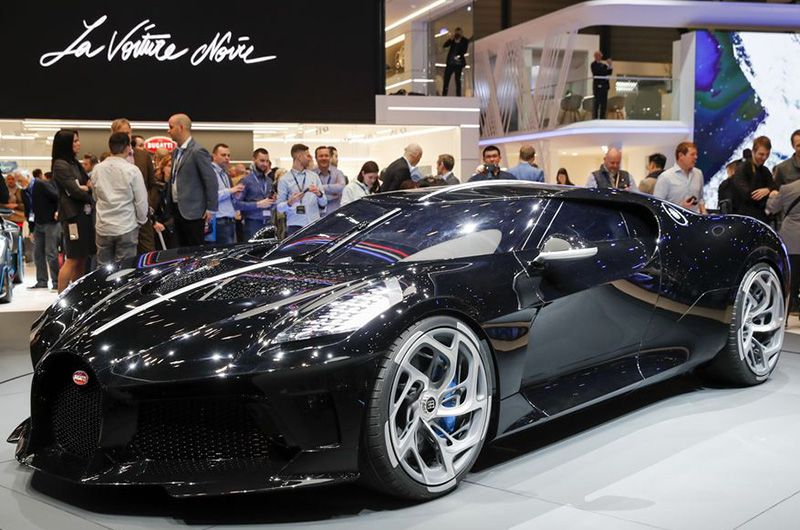 bugatti unveils the world's most expensive car, al least us$ 11