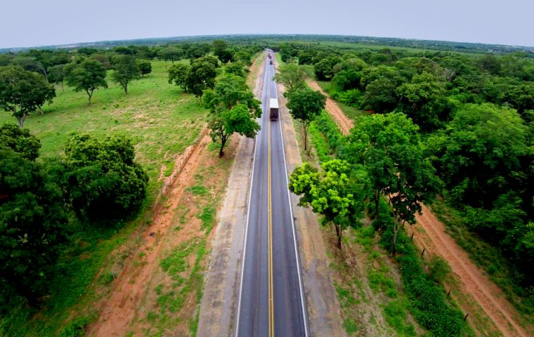 Archer Daniels Midland Co, Bunge Ltd, Cargill Inc, Louis Dreyfus Co and Amaggi have commissioned a study on the 968-kilometer stretch of BR-163 highway