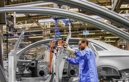 Automakers in Brazil produced around 257,200 new cars and trucks last month, while sales totaled about 198,600 vehicles, according to industry group Anfavea.