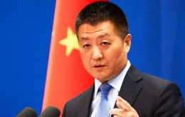 Speaking in Beijing, Chinese Foreign Ministry Spokesman Lu Kang said China had noted reports that the power grid had gone down due to a hacking attack.