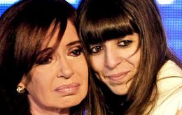 "CFK suggested Florencia's poor health was caused by ""the fierce persecution to which she has been subjected to"", a reference to ongoing criminal investigations"
