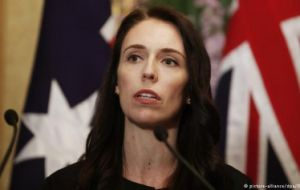 "Prime Minister Jacinda Ardern called it one of New Zealand's ""darkest days"". ""It is clear that this can now only be described as a terrorist attack"""