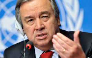 "UN Secretary General Antonio Guterres offered his strongest support yet for the strikes, ""Without ambitious action, the Paris agreement is meaningless."""